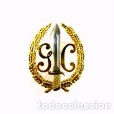 Militaria: EXCELENTE EMBLEMA BOINA DEL GAR DE LA GUARDIA CIVIL, GENIAL ESMALTADO-METAL-. Lote 96625558