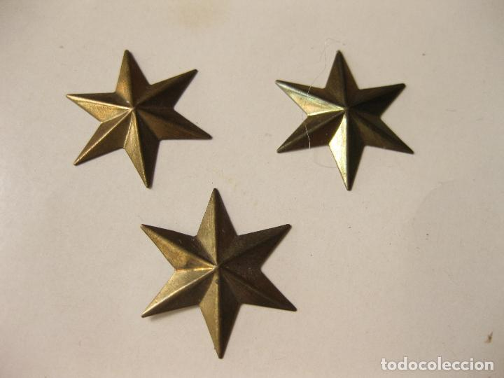 Tres Estrellas De Laton De 6 Puntas De Alferez Buy Spanish