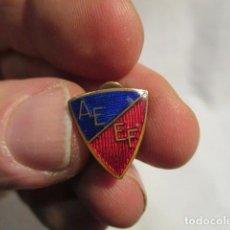 Militaria: ANTIGUO PIN O INSIGNIA: VER FOTOS (MILITAR?) AE EF ESMALTADO. Lote 69296465