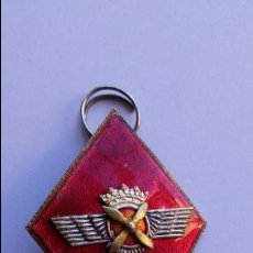 Militaria: ROMBO MILITAR DE AVIACION METALICO ESMALTADO. Lote 71069349