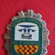 Militaria: PLACA POLICIA PORTUARIA DE TARRAGONA. Lote 71127577