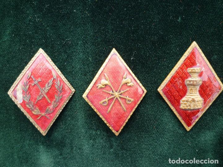 LOTE ROMBOS MILITARES (Militar - Insignias Militares Españolas y Pins)