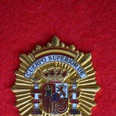 Militaria: PLACA POLICIA. CUERPO SUPERIOR DE POLICIA. ESPAÑA. Lote 71621707