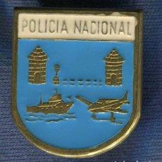 Militaria: POLICÍA NACIONAL. DISTINTIVO DE FRONTERAS, PUERTOS Y AEROPUERTOS.. Lote 196915571