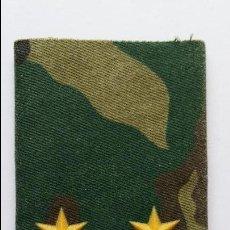 Militaria: HOMBRERA ,INSIGNIA DE TENIENTE 2 ESTRELLAS DE 6 PUNTAS. Lote 74099703