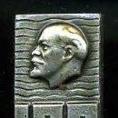 Militaria: INSIGNIA ORO SOVIETICA DE LENNIN - MIDE 17 X 11 MILIMETROS(INSIGNIA COMUNISTA ORIGINAL DE EPOCA)Nº43. Lote 76049927