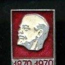 Militaria: INSIGNIA ORO SOVIETICA DE LENNIN - MIDE 18 X 13 MILIMETROS(INSIGNIA COMUNISTA ORIGINAL DE EPOCA)Nº44. Lote 76049963