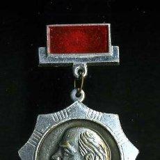 Militaria: INSIGNIA SOVIETICA - LENNIN - MIDE 46 X 30 MILIMETROS(INSIGNIA COMUNISTA ORIGINAL DE EPOCA)Nº88. Lote 76051303