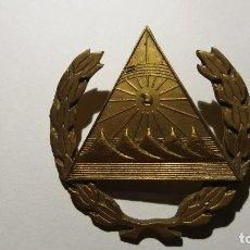 Militaria: DISTINTIVO DE GORRA DE NICARAGUA. Lote 77364073