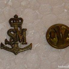Militaria: PIN MILITAR. ARMADA ESPAÑOLA. SM. SALVAMENTO MARÍTIMO. Lote 181986497