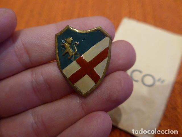 Militaria: Antigua insignia de division nacional, cuerpo ejercito de aragon. Modelo raro. Guerra civil. - Foto 2 - 79550885
