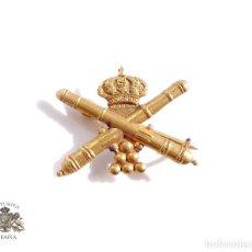 Militaria: DISTINTIVO PARA GALLETA. ARTILLERÍA GUERRA CIVIL- ALFONSO XIII. Lote 79987185
