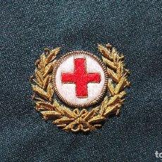 Militaria: EMBLEMA DISTINTIVO EN TELA CRUZ ROJA 4,2 CM DE ANCHO. Lote 79992893