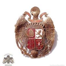 Militaria: DISTINTIVO PATRIÓTICO, ÁGUILA DE SAN JUAN. REALIZADO DE FORMA ARTESANAL EN LOS AÑOS 40. 3,3 X 4,2 CM. Lote 79993393