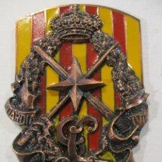 Militaria: ESCUDO GUARDIA CIVIL-V ZONA BARCELONA-RELIEVE-PERFECTO ESTADO. Lote 80221465