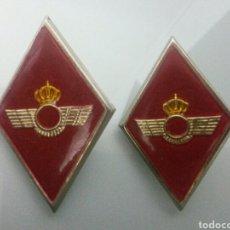 Militaria: 2 ROMBOS INSIGNIA EJERCITO AIRE AVIACION. Lote 134969055