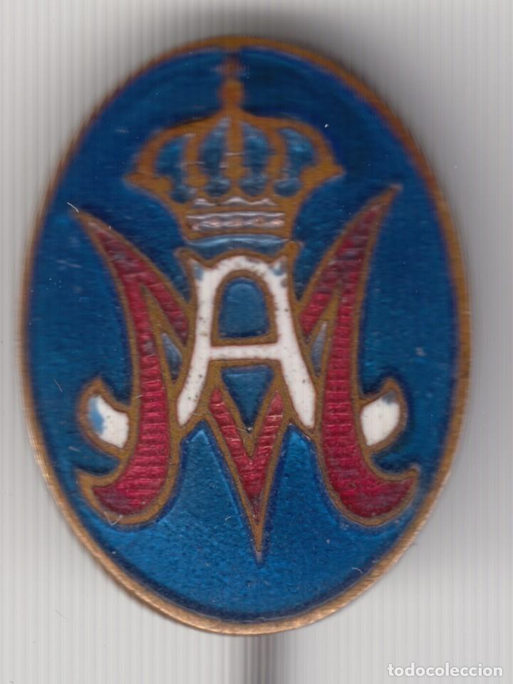 INSIGNIA DE AGUJA PARA SOLAPA MAESTRO ARMERO. EPOCA ALFONSO XIII (Militar - Insignias Militares Españolas y Pins)