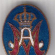 Militaria: INSIGNIA DE AGUJA PARA SOLAPA MAESTRO ARMERO. EPOCA ALFONSO XIII. Lote 82336928