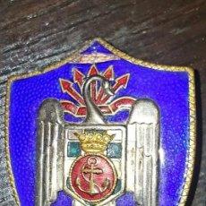 Militaria: INSIGNIA MILICIAS UNIVERSITARIAS NAVALES AÑOS 50. Lote 82646748