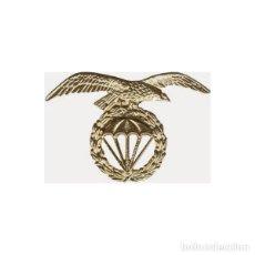 Militaria: ESTUPENDO EMBLEMA EN META DE LA BRIGADA PARACAIDISTAS EN COLOR ORO. Lote 116937456