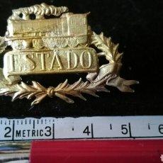 Militaria: INSIGNIA O DISTINTIVO DE FERROCARRILES O TRENES. Lote 107640984