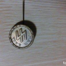 Militaria: INSIGNIA DE ALFILER ORGANIZACION NSV RUNAS 1934. Lote 84250408