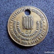 Militaria: (JX-170425)PLACA DE IDENTIFICACIÓN,CONSELLERIA DE SANITAT I ASSISTENCIA SOCIAL GENERALITAT DE CATATU. Lote 84681900