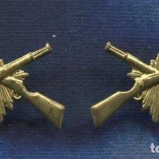 Militaria: PAREJA DE INSIGNIAS DE CUELLO CARABINEROS. EPOCA 2ª REPÚBLICA.. Lote 85978100