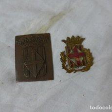 Militaria: LOTE 2 INSIGNIA DE DIPUTACIO DE BARCELONA, MOSSOS D'ESQUADRA. ESQUADRA. POLICIA. . Lote 86748612
