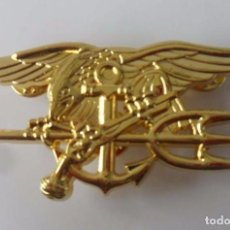 Militaria: INSIGNIA DE LOS SEALS SEAL FUERZAS ESPECIALES DE LA ARMADA DE LOS EEUU. Lote 176726233