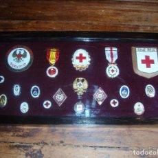 Militaria: LOTE INSIGNIAS CRUZ ROJA. Lote 89149192