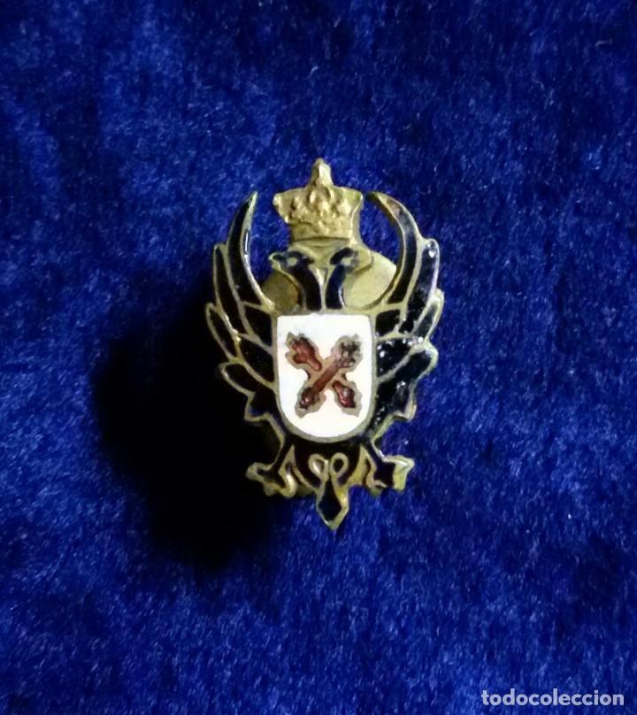 Antigua insignia pin de ojal solapa carlistas ( - Sold through