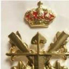 Militaria: EXCELENTE EMBLEMA DE BOINA DE LA FUERZA MANIOBRA EN METAL. Lote 89420992