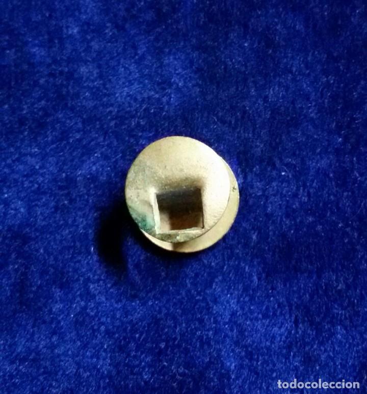 Militaria: Antigua insignia pin de ojal solapa esmaltada comercio - Foto 2 - 89498080