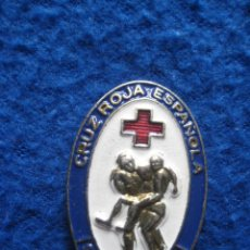 Militaria: PLACA MILITAR SOCORRISTA CRUZ ROJA. AÑOS 70.. Lote 89607472