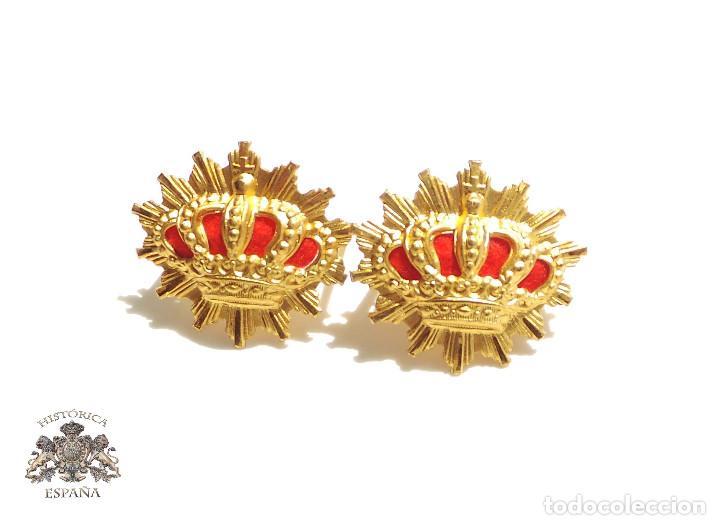 DISTINTIVOS CARABINEROS ALFONSO XIII (Militar - Insignias Militares Españolas y Pins)