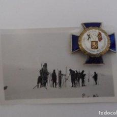 Militaria: PLACA NORD FRONT KREUZ 1941-1943,AOK NORWEGEN .EJERCITO DE NORUEGA-FITLANDIA AÑO 1940-44. Lote 92945930