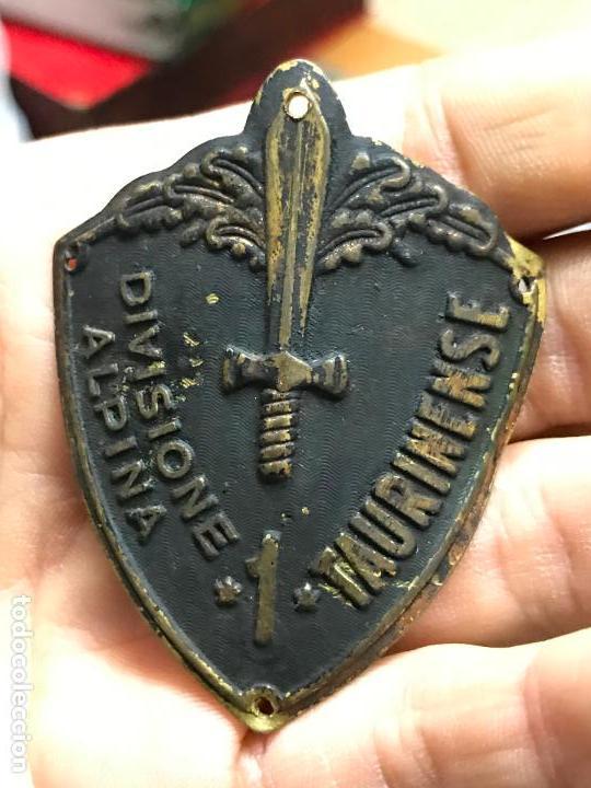 Militaria: Escudo de brazo - Division alpina taurinense - Divisione alpina taurinense - Segunda guerra mundial - Foto 5 - 94212070