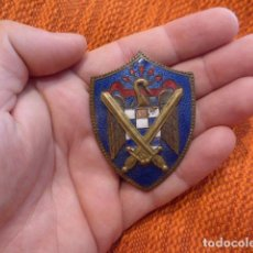Militaria: ANTIGUA INSIGNIA EMBLEMA DE PECHO DE SEU DE FALANGE, MILICIAS UNIVERSITARIAS. . Lote 94436442