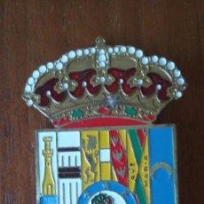 Militaria: ESCUDO METÁLICO ANTIGUA PROVINCIA DE MADRID . Lote 95496155