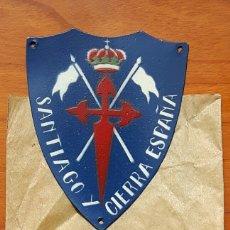 Militaria: INSIGNIA CABALLERIA GUERRA CIVIL SANTIAGO Y CIERRA ESPAÑA. Lote 95663911