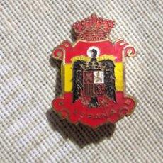 Militaria: ANTIGUA INSIGNIA REINO DE ESPAÑA,ÉPOCA DE FRANCO O FRANQUISTA,ARTICULO DE COLECCIONISMO. Lote 95752231