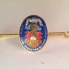 Militaria: ALFILER BUQUE J. SEBASTIÁN ELCANO. Lote 96193491