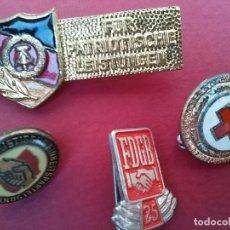 Militaria: LOTE DE 4 INSIGNIAS . ALEMANIA ORIENTAL. DDR. L2. Lote 96647671