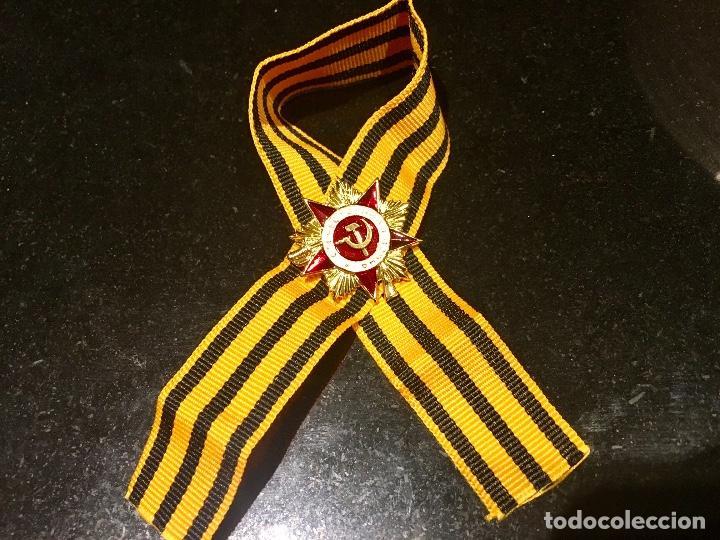 MEDALLA PIN MILITAR DEL PARTIDO COMUNISTA DE LA URSS. RUSIA SOCIALISTA SOVIETICA (Militar - Insignias Militares Extranjeras y Pins)