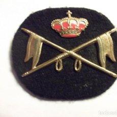 Militaria: EMBLEMA PARA BOINA. REGIMIENTO DE CABALLERÍA. Lote 96989207
