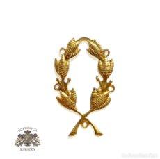 Militaria: INSIGNIAS DISTINTIVO LAUREL - FERROCARRILES - TRENES. Lote 97133427