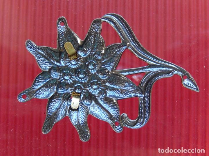 Militaria: Insignia / distintivo. Edelweiss. Tropas de montaña. Utilizado por las tropas alemanas y austriacas - Foto 5 - 97564635