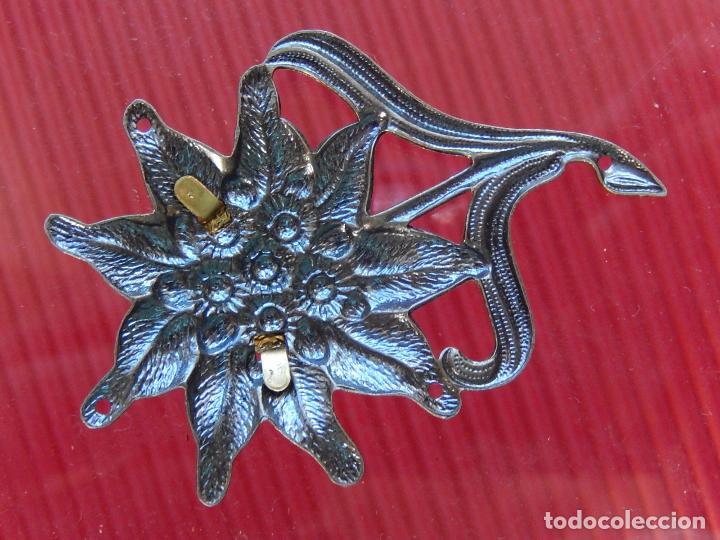Militaria: Insignia / distintivo. Edelweiss. Tropas de montaña. Utilizado por las tropas alemanas y austriacas - Foto 6 - 97564635