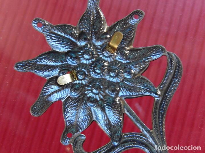 Militaria: Insignia / distintivo. Edelweiss. Tropas de montaña. Utilizado por las tropas alemanas y austriacas - Foto 7 - 97564635